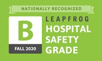 "Lawrence General received a ""B"" in the latest Leapfrog Hospital Safety Grade"
